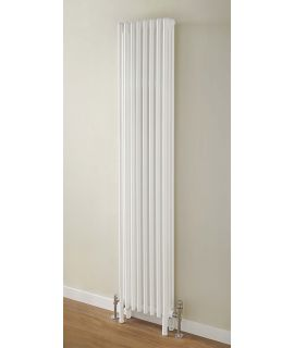 HeatQuick - Goshawk Vertical 2 Column Radiator - White