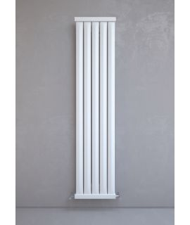 Kudox - Elmas Radiator - Vertical - Satin White