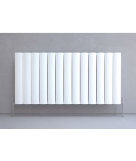 Kudox AluLite Arc Radiator - Horizontal - White