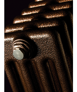 DQ - Peta Vertical 2 Column - Historic Copper Radiator