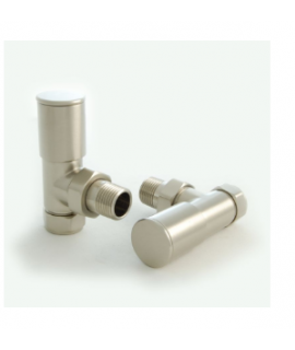 HeatQuick - Satin Nickel Angled Valve