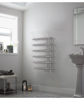 HeatQuick - Pine - Towel Rail
